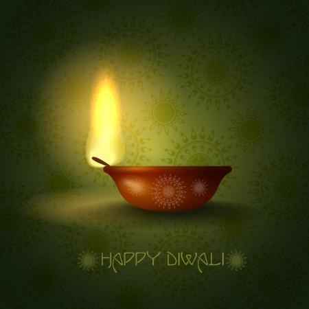 Happy diwali. Vector illustration. Stock Vector - 20192393