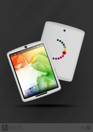 Tablet Computer   Stock Vector - 20814049