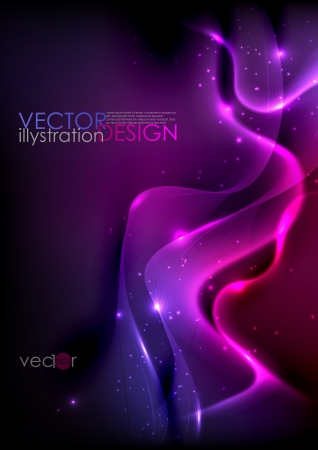 Dark purple abstract background   Stock Vector - 20814234