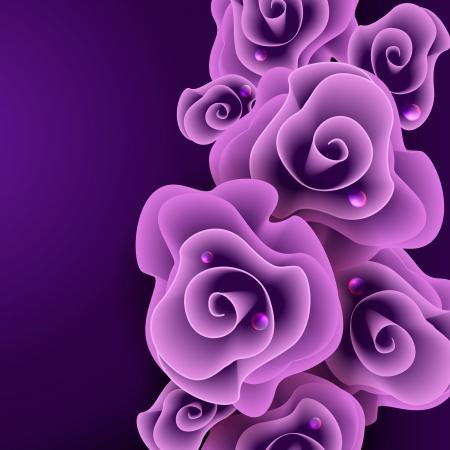 pinturas abstractas: Rosa