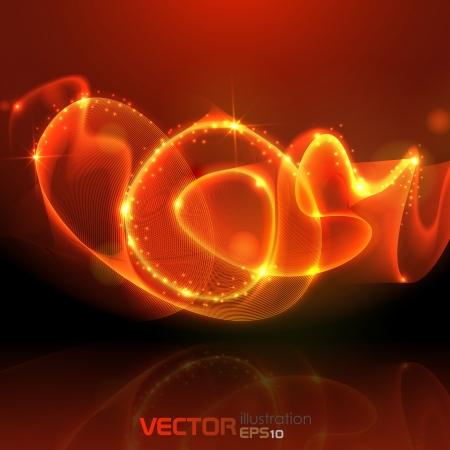 Gold background  Vector illustration Stock Vector - 20992583