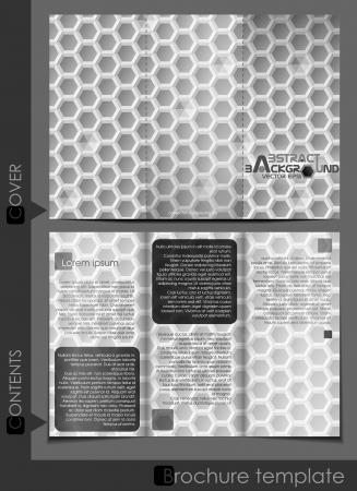 Brochure template business   Vector illustration   Vector