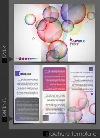 Brochure Template Design. Vector Illustration. Eps 10. Vector