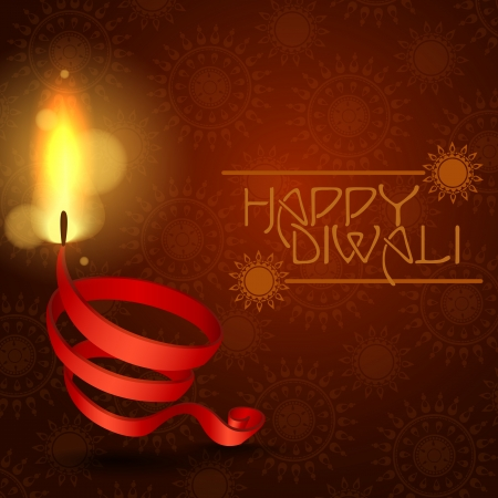 Happy Diwali Background. Vector Illustration. Eps 10. Vector