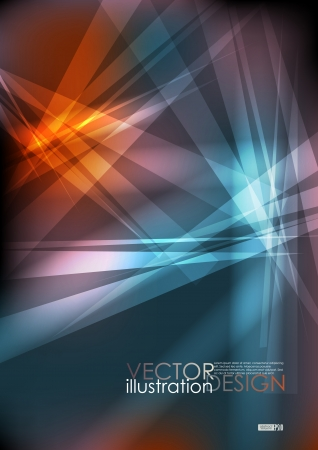 Broken Glass Texture. Vector Illustration. Eps 10.