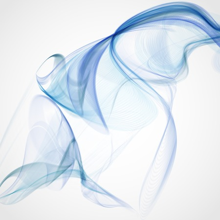 blue abstract: Blue Abstract Background. Vector Illustration. Eps 10. Illustration