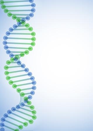 DNA Molecule Background.