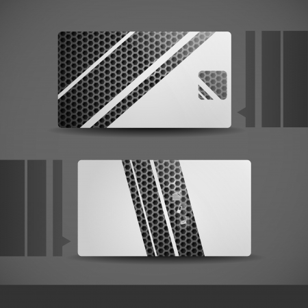 Business Card Design. photo