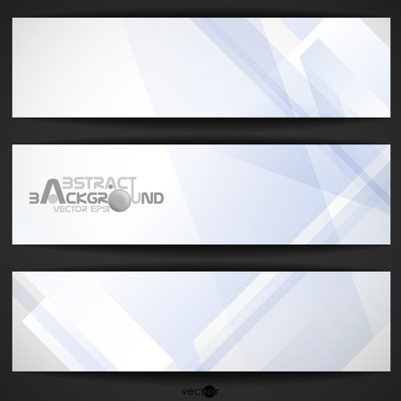 Abstract Geometric Banner.  Vector Illustration. Stock Vector - 23208235