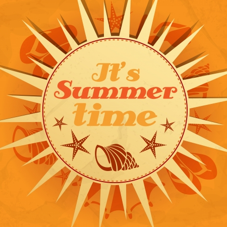 It�s Summer Time.  Vector Illustration. Vector