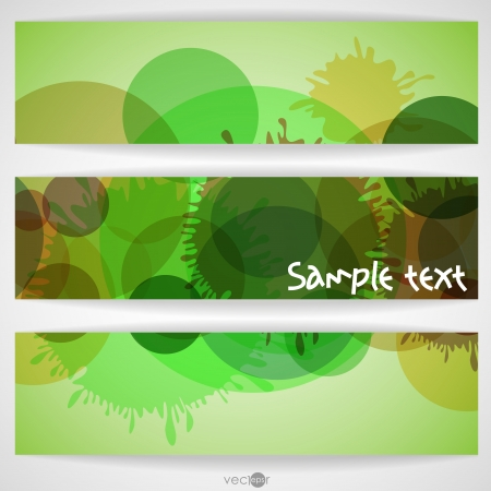Abstract Colorful Banner. Vector Illustration. Illustration