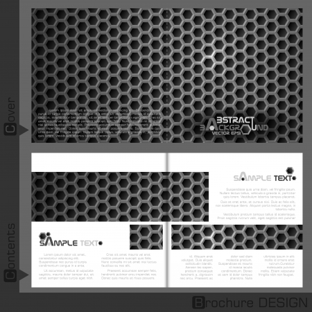 Brochure Template Business.  Vector Illustration. Vector