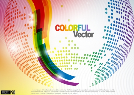 Abstract Colorful Background. Vector Illustration. Eps 10. Vector