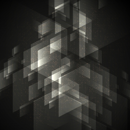 Abstract Geometric Shapes. Vector Illustration.  Иллюстрация
