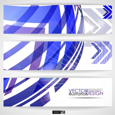 Arrow White Background With Place For Your Text. Vector Illustration.  Vector