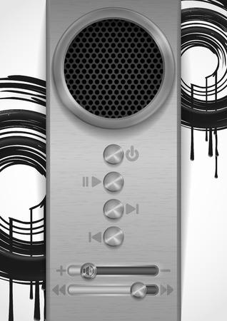 Abstract Speaker Concept Design. Stock Photo - 28172742