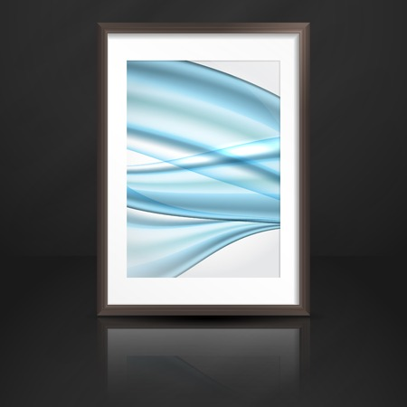 Wood Shelf With Photo Frame  photo