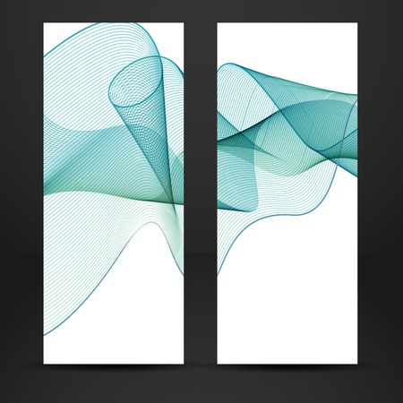 variegated: Abstract Waves Design