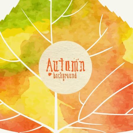 Einfache Herbst Hintergrund
