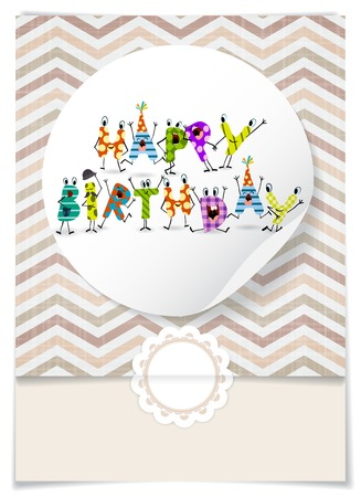 Greeting Card Design, Template photo