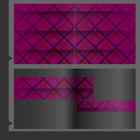 Brochure Template Design. photo