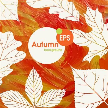 Magic Autumn Background