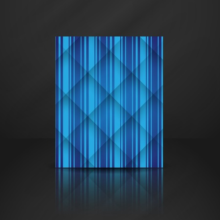 stripe background: Abstract Blue Stripe Background