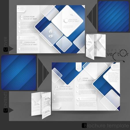 Business-Broschüre Template Design Standard-Bild - 33866047