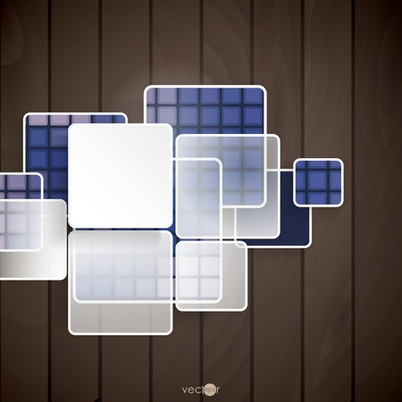 squares background: Abstract Squares Background