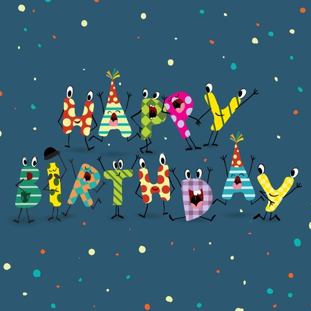fond de texte: Colorful anniversaire Contexte