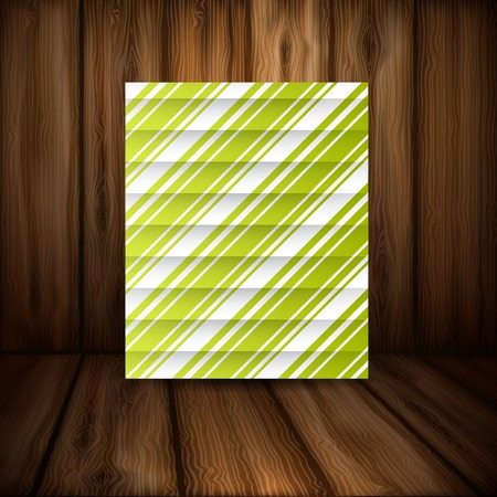 stripe background: Abstract Green Stripe Background