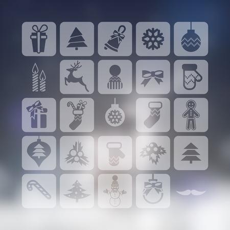 Christmas Icons Set photo