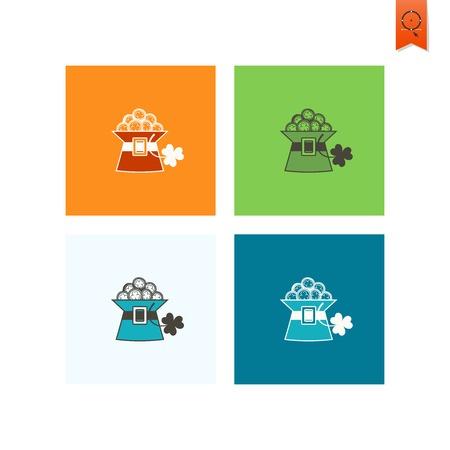 saint patrick's day: Saint Patricks Day Icon Illustration