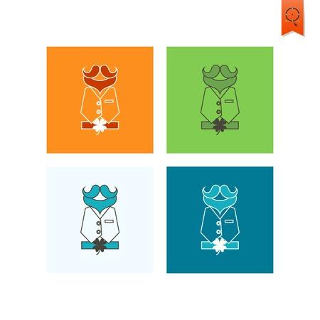 quatrefoil: Saint Patricks Day Icon Illustration