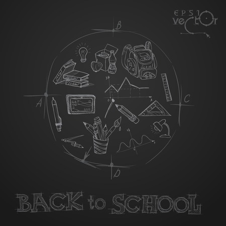 school student: Back To School Background