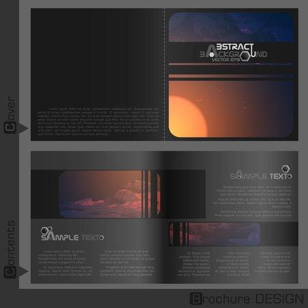 folleto: Diseño del modelo del folleto