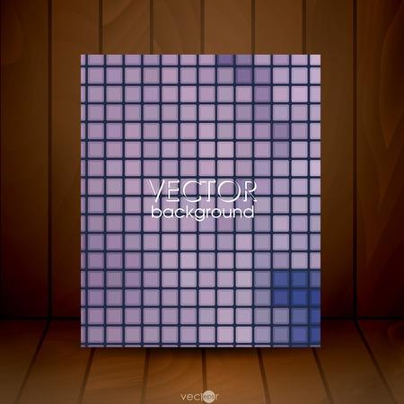 tiles texture: Mosaic Tiles Texture Background. Vector Illustration. Illustration