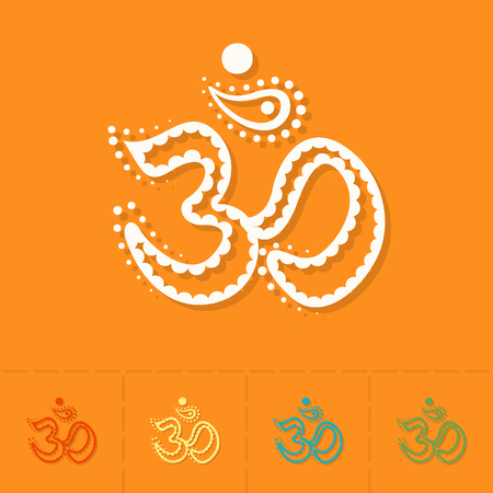 tantra: Diwali. Indian Festival Icon. Simple and Minimalistic Style. Vector