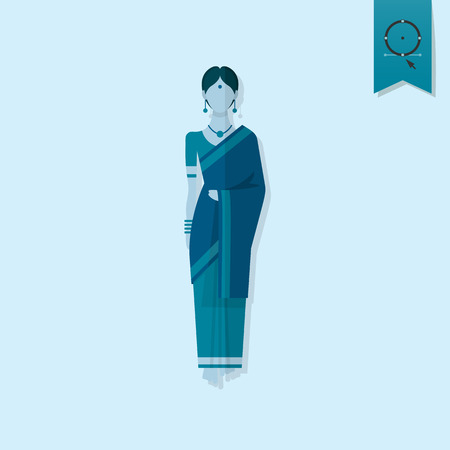 traditional illustration: Diwali. Indian Festival Icon. Simple and Minimalistic Style. Vector