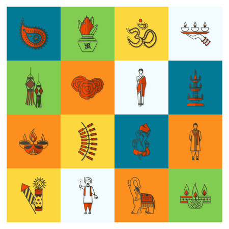 pooja: Diwali - Indian Festival Icons