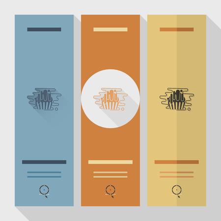 Muffin icon design.