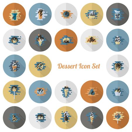Dessert icon design.