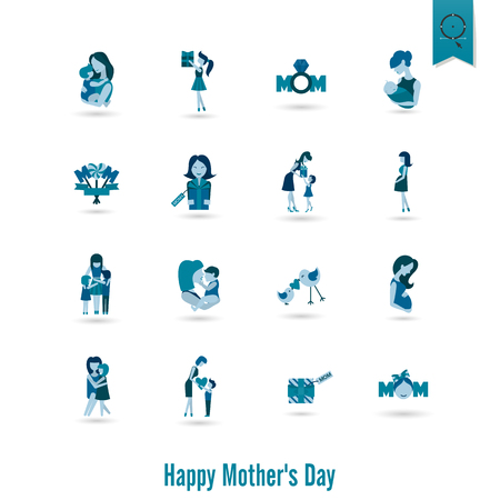 Happy Mother's Day Icons
