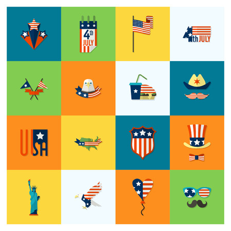 Independence Day of the United States Stock Illustratie