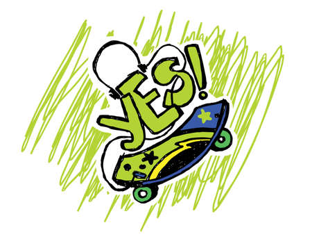 activ: skate Illustration