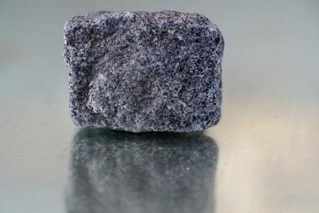 The mineral granite is a quartz and mica