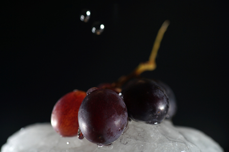 Grapes are fruits of the grapevine, individual fruits are called grape berries