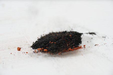Contents of a fireworks body with disguise and black powder