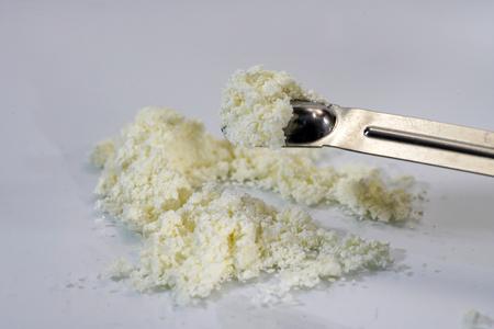 Chemical substances close up