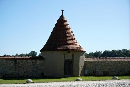 Roof tiles made of baked clay are particularly beautiful and durable on German roofs
